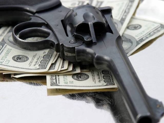 Guns, Media and Money