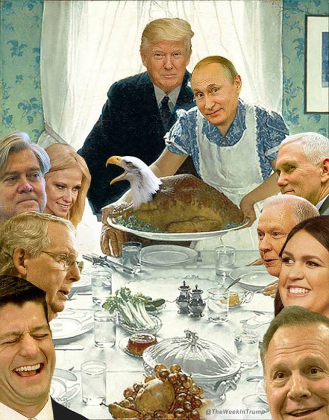 Trump Treason Turkey