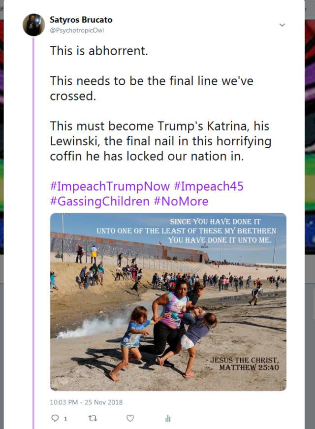 Trump Final Line Tweet